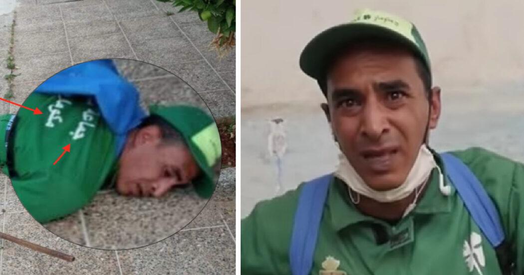 صورة مقارنة تعود إلى عامل النظافة لم يتوف بل سقط إثر معاناته من مرض الفتق