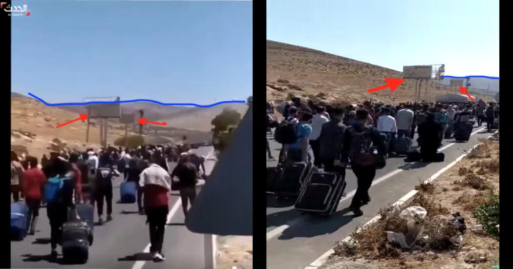هؤلاء سوريين في الحدود التركية
