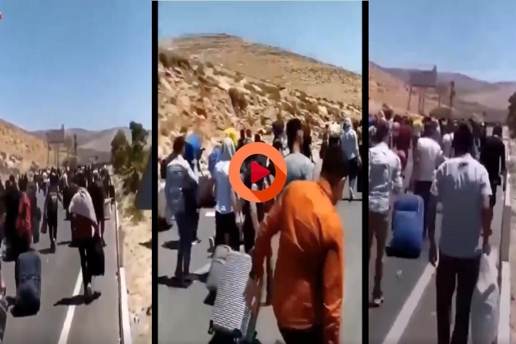 سوريين عائدين إلى بلادهم