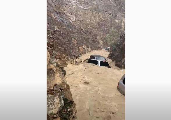 ادعاء جرف السيارات إعصار شاهين مضلل فتبينوا