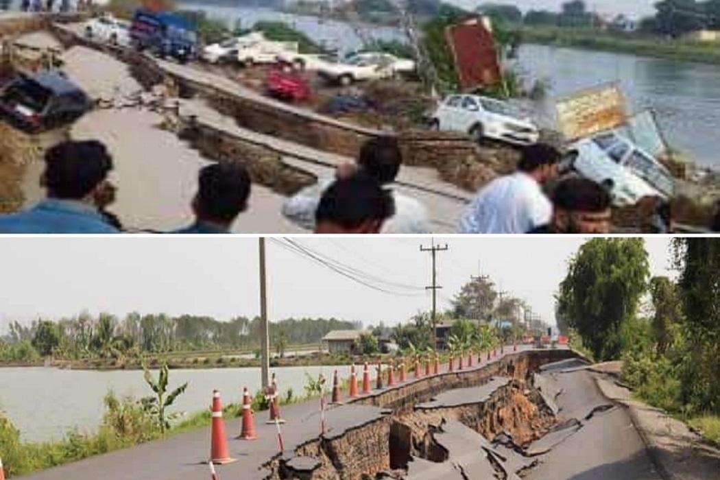 ادعاء صور زلزال باكستان مضلل فتبينوا